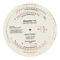 Kalkulátor rosného bodu Elcometer 114