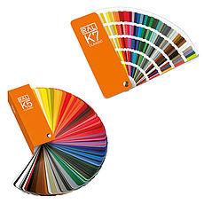 Vzorníky barev  RAL