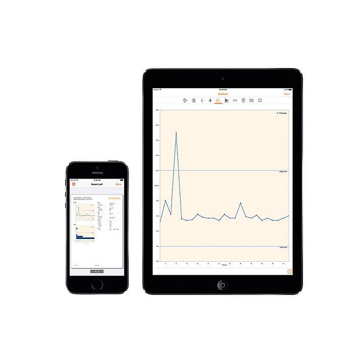 ElcoMaster vytváří profesionální protokoly nejen v PC, ale i na tabletu a smartphone